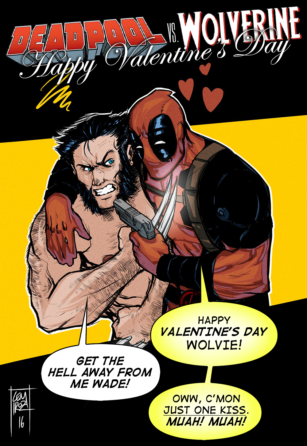 Deadpool VS Wolverine   Happy Valentines Day   4 Finished